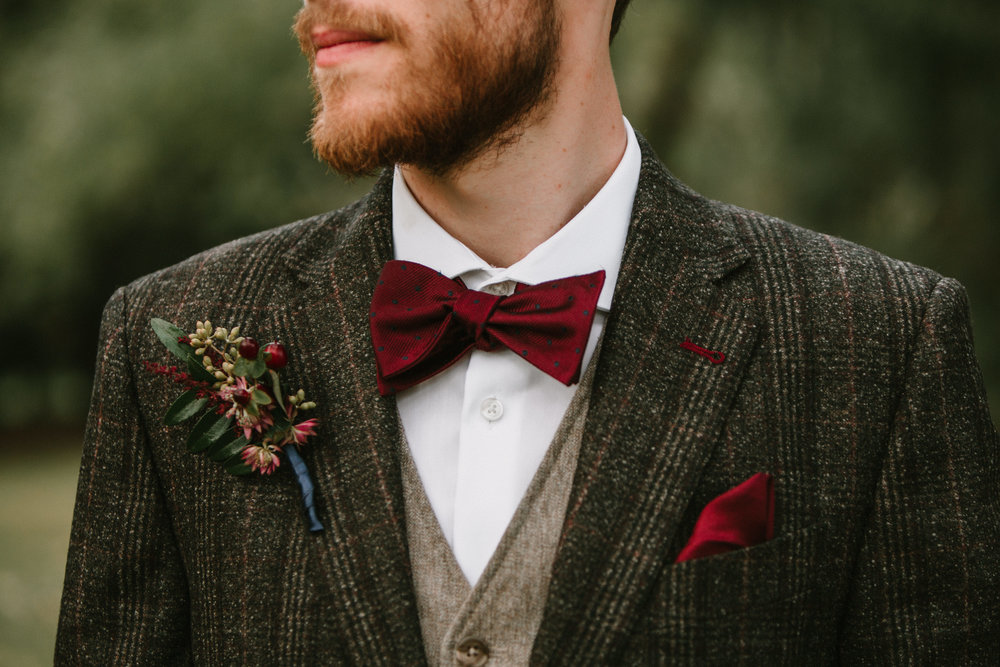 Grooms Boutonniere- Pollen and Pastry
