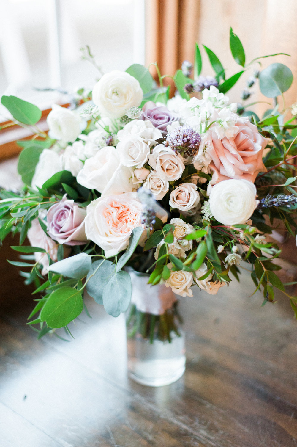 Lavender and Blush Bridal Bouquet