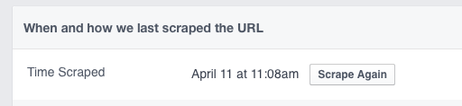 Facebook debugger to force refresh FB preview | Squarespace mentoring and tutorials