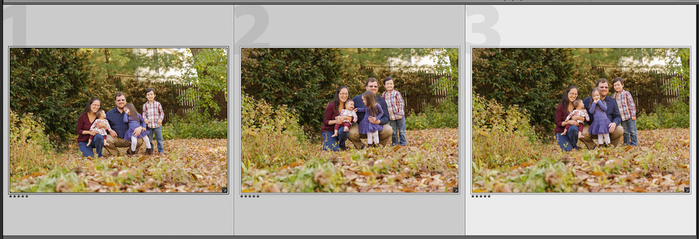 Photoshop headswap source photos for family portrait | Christina Keddie Photography | Photoshop tutorials