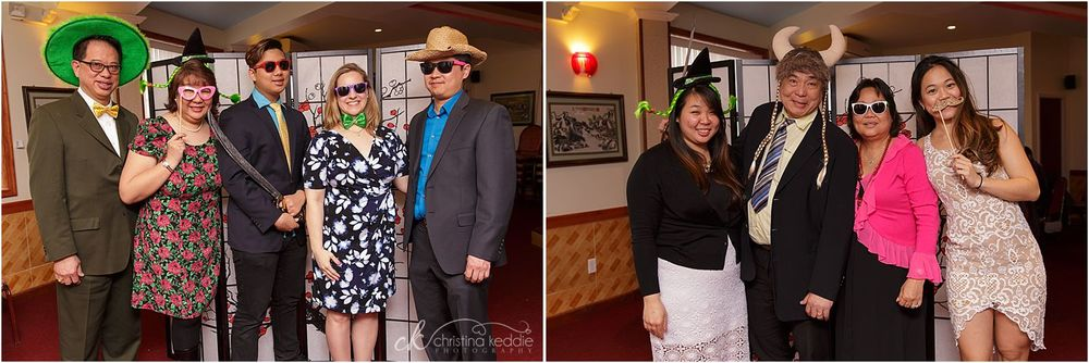 Photobooth props at reception | Christina Keddie Photography | Edison NJ event photographer