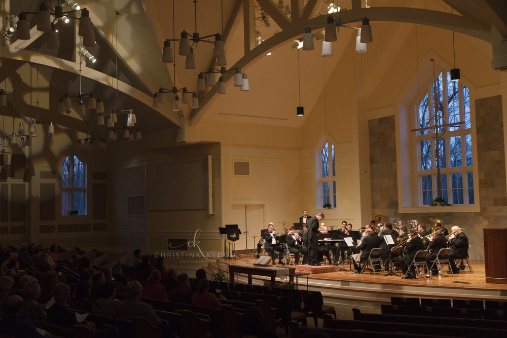 Brass ensemble concert | Christina Keddie Photography | Princeton NJ event photographer
