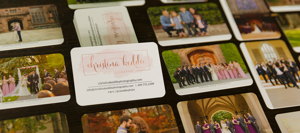 Moo super business cards for photographers | Christina Keddie Photography