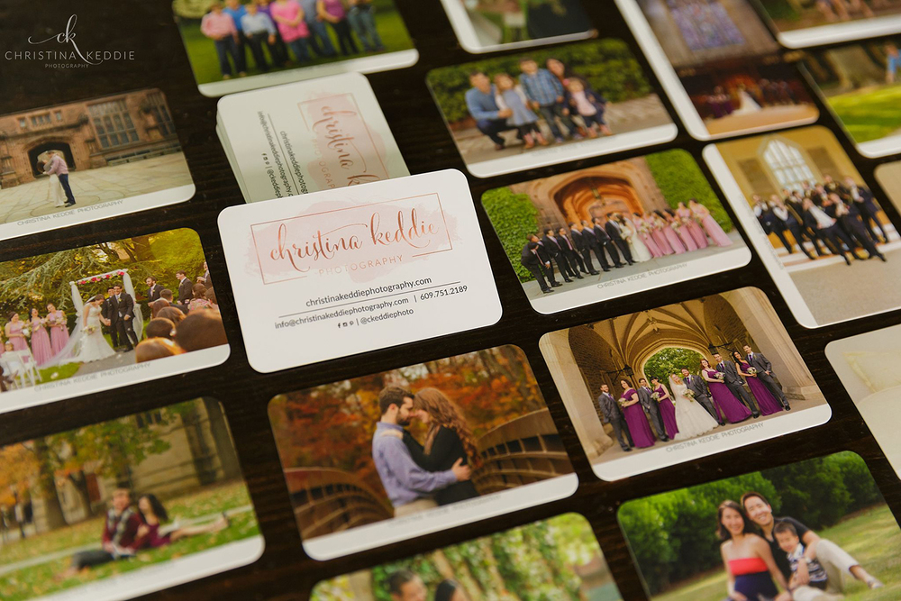 Moo.com Super business cards with printfinity | Christina Keddie Photography | Branding for photographers