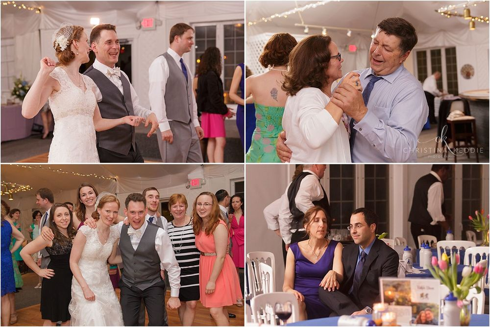 Reception dancing and fun | Christina Keddie Photography | Voorhees NJ wedding photographer