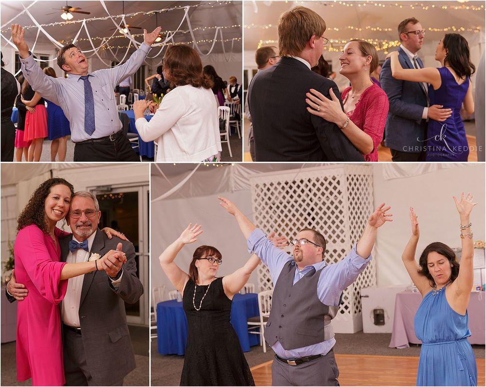 Reception dancing photos | Christina Keddie Photography | Voorhees NJ wedding photographer