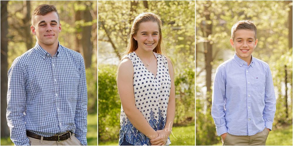 Teen boy, teen girl, tween boy portraits | Christina Keddie Photography | Skillman NJ family photographer