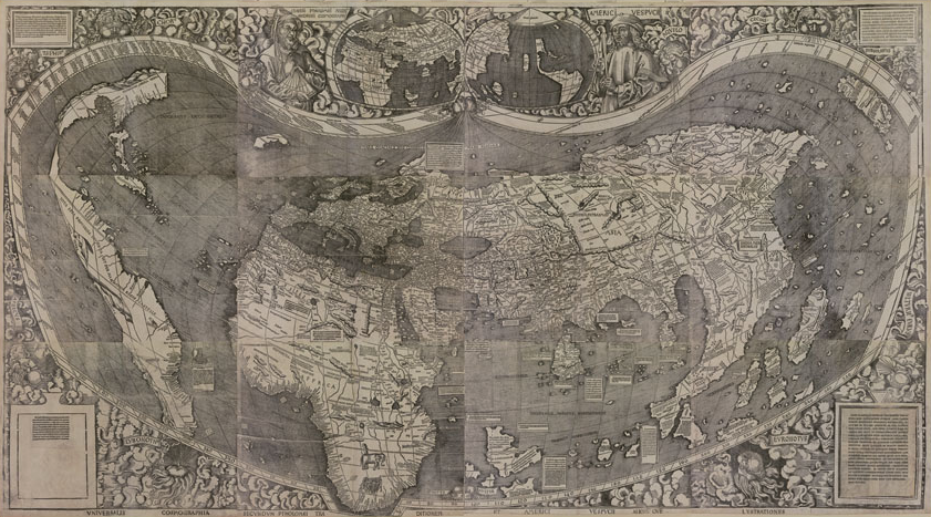 First Map Of America Now online: the first map of 'America' [Map of the Month] — Supply