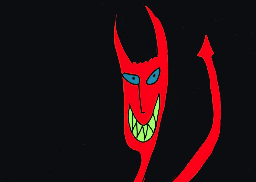 Panic Attack  Satan © Eileen OMeara.jpg
