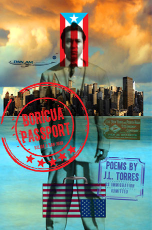 Illustration for J.L. Torres' Boricua Passport