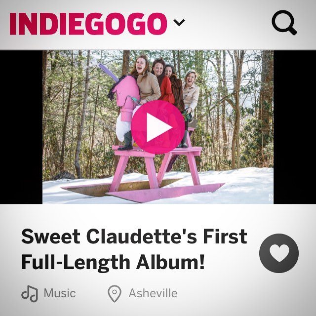 Link in our Instagram bio!!! Only 14 days left to help us do what we dream and release our very first full-length album! Take home a lovely gift for your donation such as our new album and/or our INDIGOGO EXCLUSIVE fully-produced motown-era EP! We love you. Regardless.