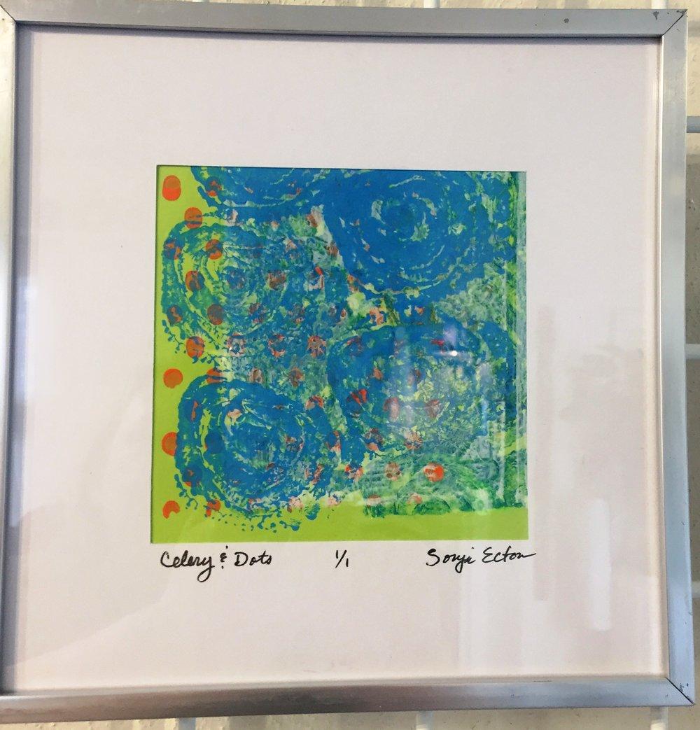 Celery & Dots by Sonja Ecton