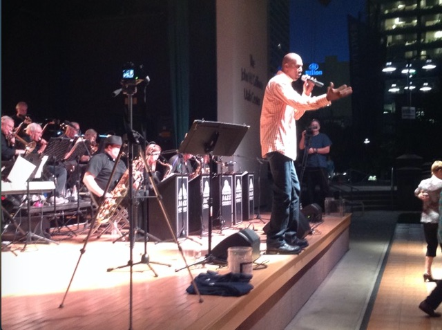 Thurl Bailey and The Wasatch Jazz Project Big Band, Summer 2015