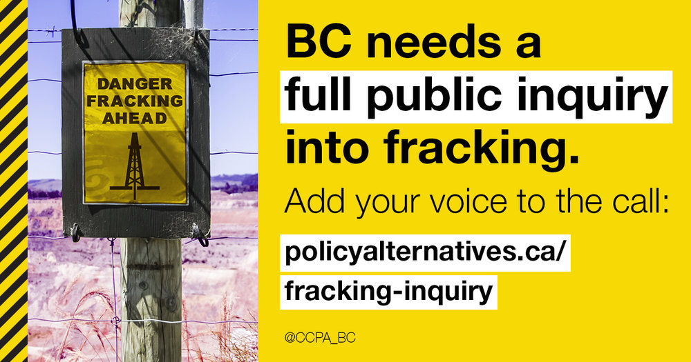 C.C.P.A. calls for a public inquiry - https://www.policyalternatives.ca/newsroom/news-releases/public-inquiry-needed-properly-investigate-deep-social-and-environmental