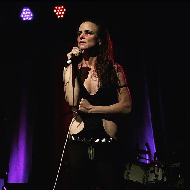 Great show by @juliettelewis tonight! You #rock! #juliettelewis at #brooklynbowl