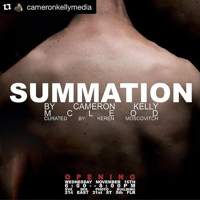 We've been collaborating with this talented 📸homie for the past year and he always rocks it! Check out the opening of his personal work on exhibit tonight! #Repost @cameronkellymedia with @repostapp ・・・ Come to the opening of my show next week, we can all mope about the future of America together.