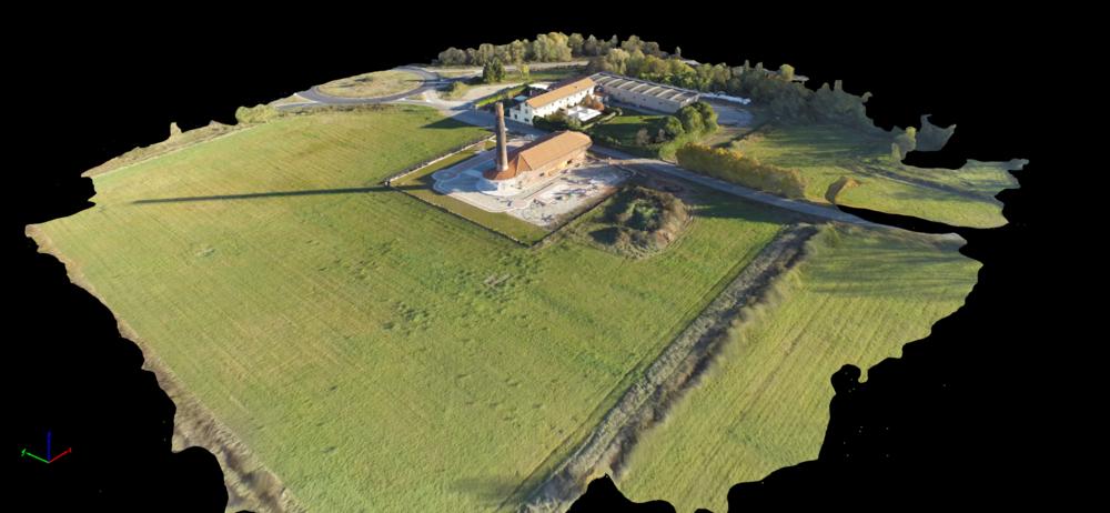 Mappatura 3D di caseggiati, cantieri, terreni...