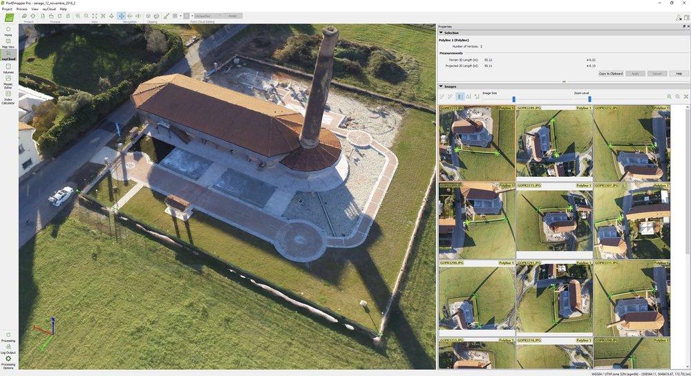 Pix4D: software di post processing delle immagini