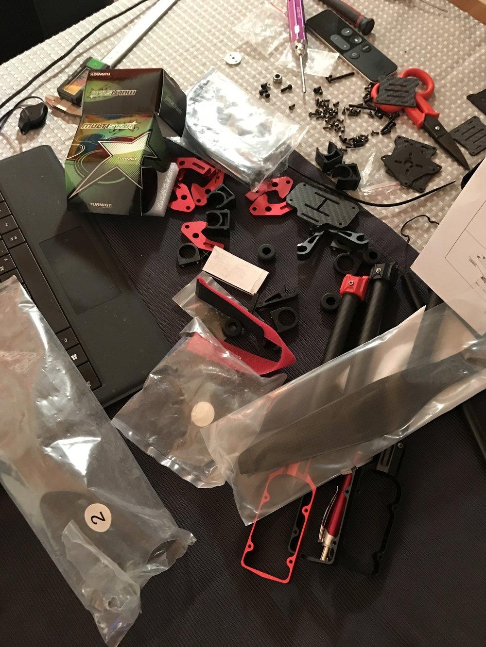 We Fly Drones Ottacottero In Configurazione X8 Alimentazione La Riceve Dal Bec Battery Eliminator Circuit Costruzione Per Immagini