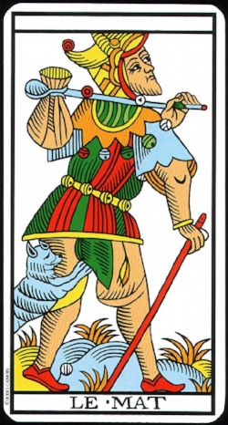 Le Mat / The Fool (Tarot de Marseille)