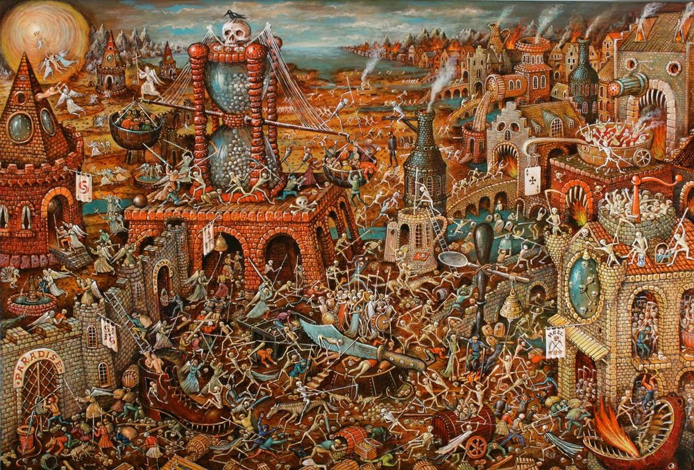 Sergey Tyukanov's  Purgatory  (2007)