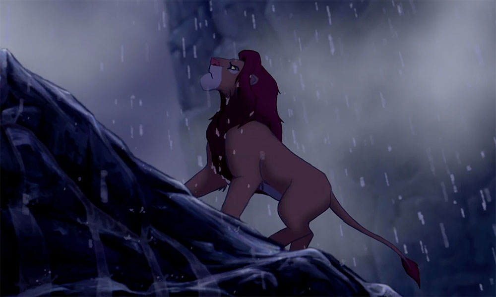 Simba Returns to Pride Rock