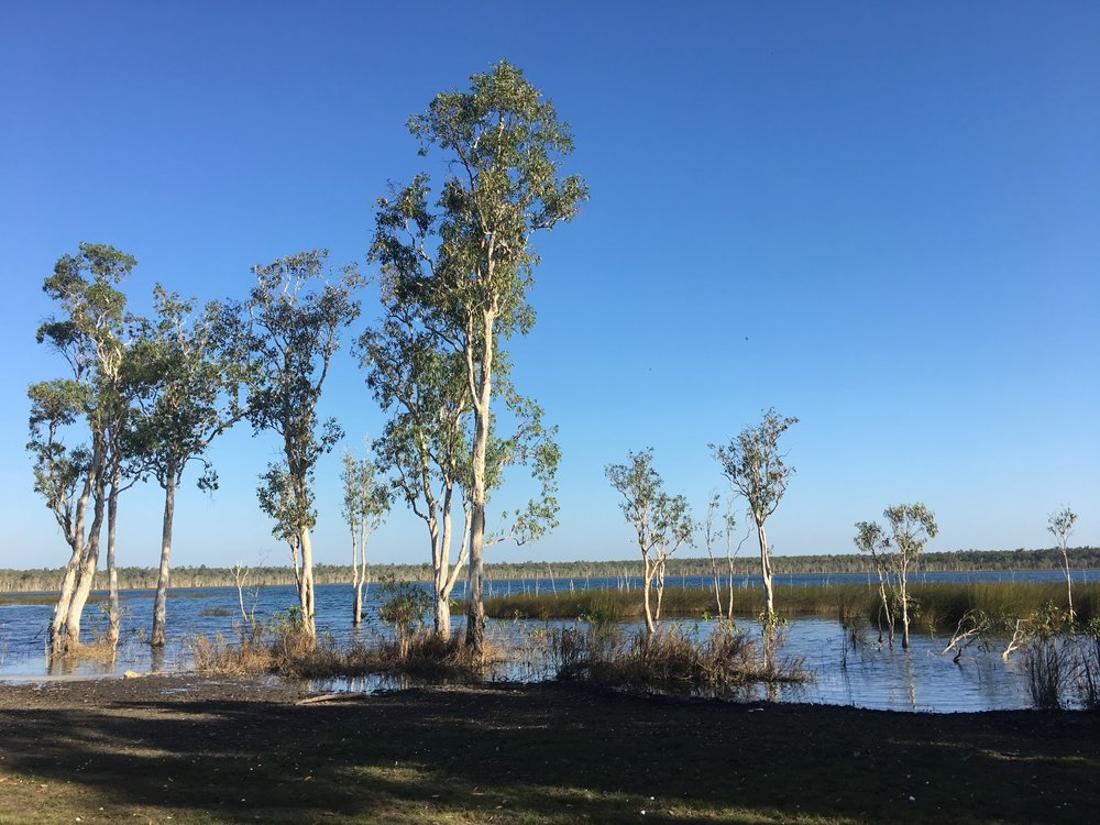 Gulun (Lake), Gapuwiyak, Arnhem Land, NT. July 2018