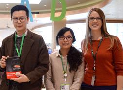 Ruoxi Wang, Ying He & Kendra           Perkins