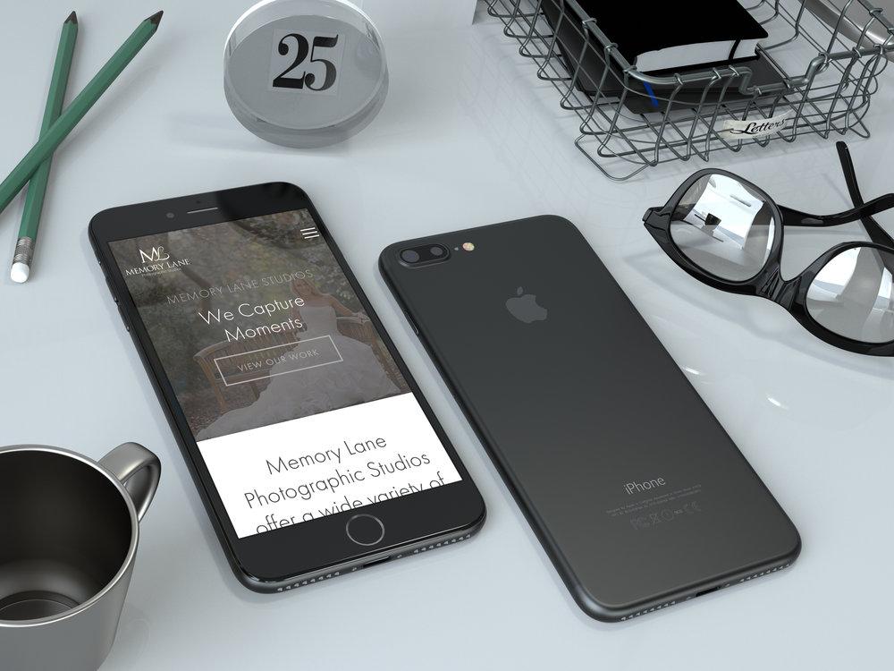 Realistic Black iPhone 7 Plus Mockup - Anthony Boyd.jpg