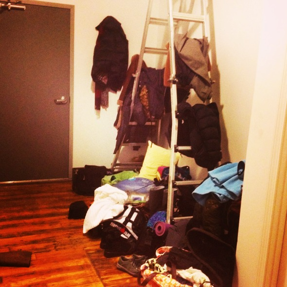 stuff in loft