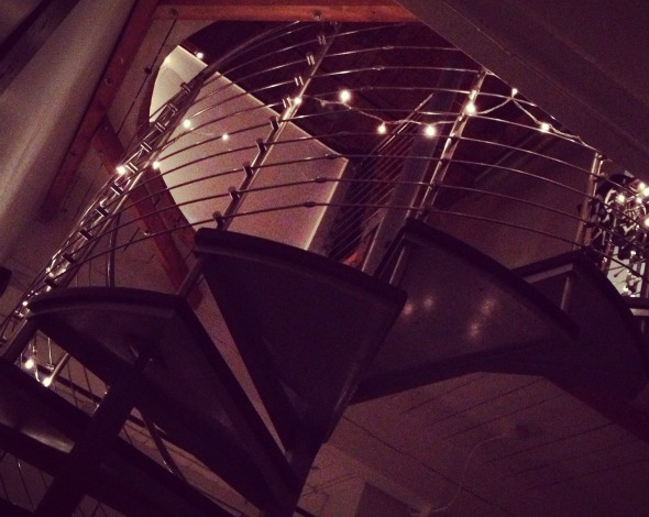 the loft stairs