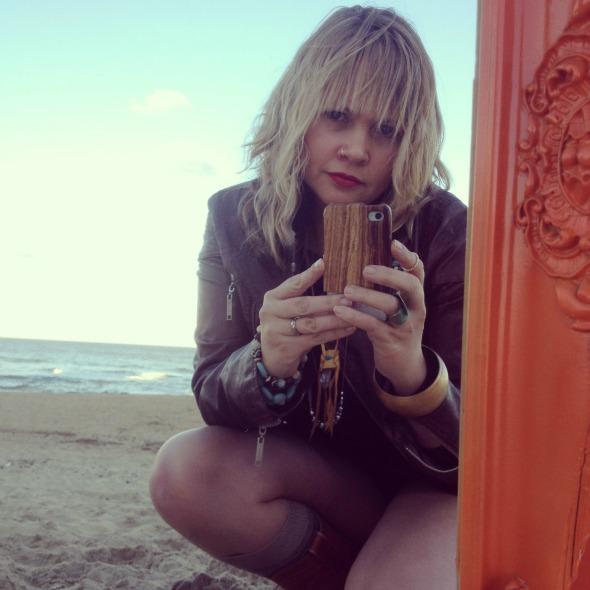 Hannah on beach