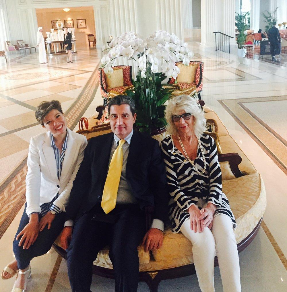 MISSIONE DI SUCCESSO : PRESOTTO Design for life  6 - 7 - 8 MARZO 2017 L'Avvocato Claudio Gandini insieme al Direttore Generale, la Dott.ssa Maria Caterina Roveda hanno accompagnato l'azienda Presotto Design for Life durante la missione negli Emirati che si e' svolta dal 6 al 8 Marzo 2017. La delegazione italiana ha incontrato 11 operatori emiratini fra i quali studi di architettura, interiors , contractors e divelopers. La missione si e' svolta a seguito del Progetto con Rappresentanza seguito dalla Dott.ssa Aya Maria Moussalli - Business Development Manager della IICUAE.