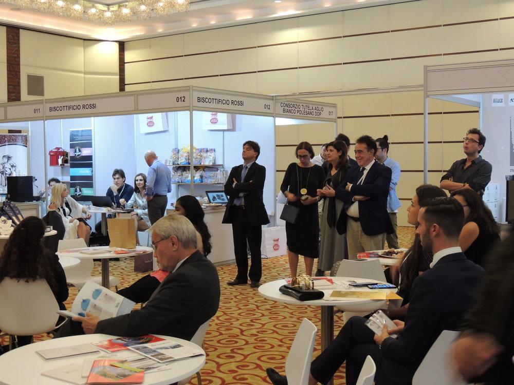 """""""Piedmont Region in Dubai"""": presentazione della Regione Piemonte ai TO ed ai visitatori, BuonaItalia Trade Show 2017."""