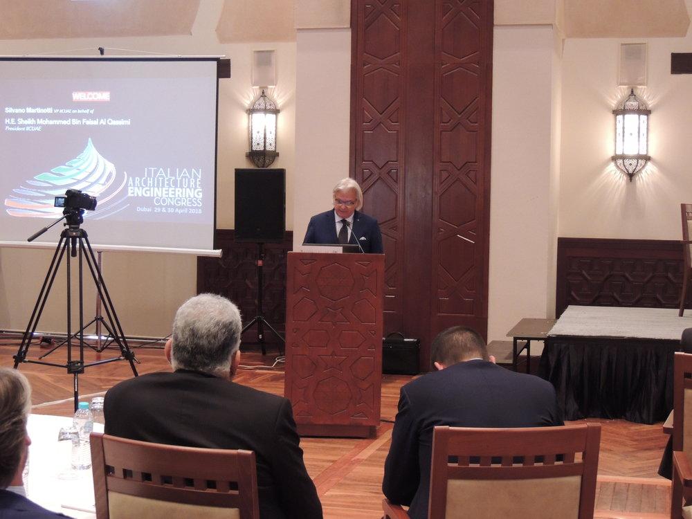 Silvano Martinotti - Vice Presidente, IICUAE