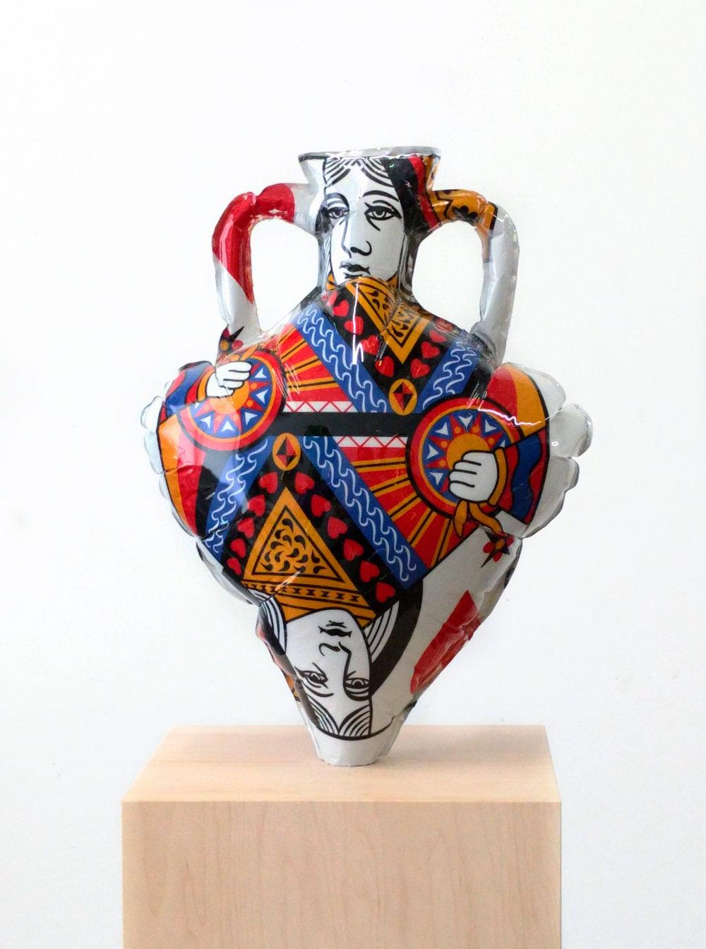 Amphora With Deity Motif