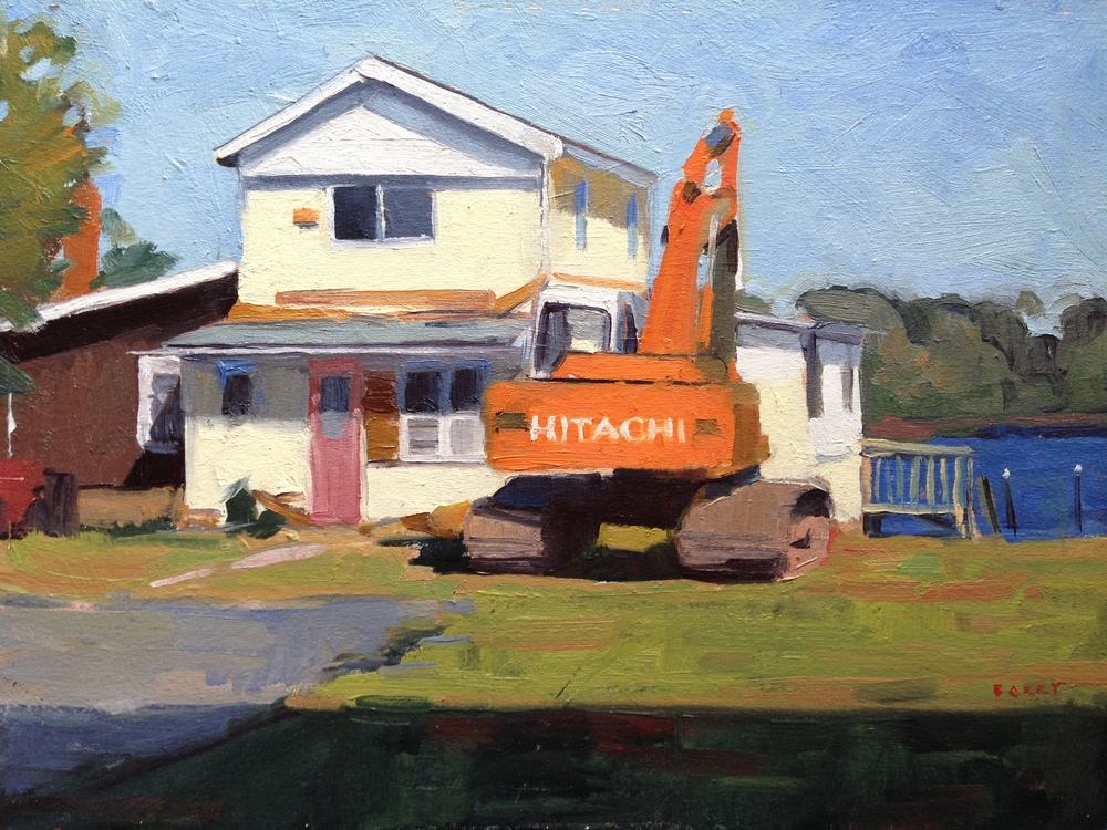 Oil, 9x12.  Solomon's Island, MD     300.