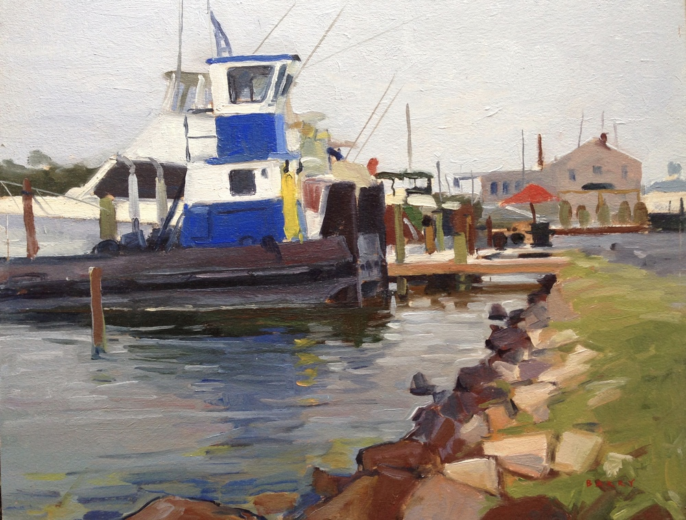 Oil, 11x14.  Solomon's Island, MD.     350.