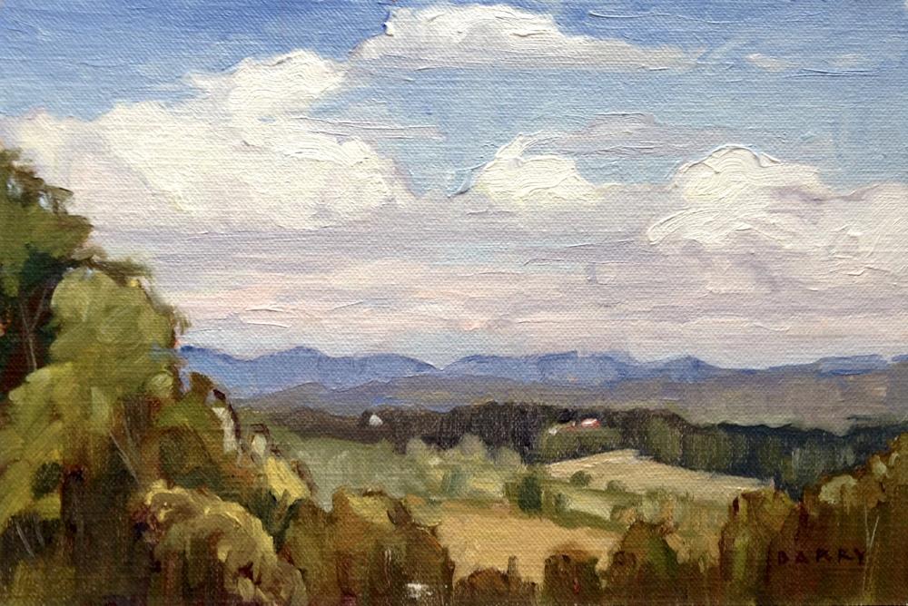 Oil, 6x9. Benson, VT. 250.