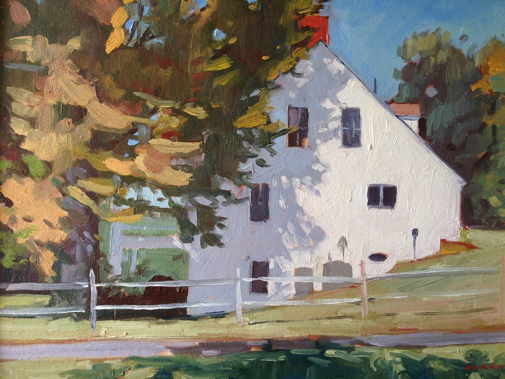 Oil, 11x14.  Jefferson Patterson Park, St. Leonard, MD     Sold.