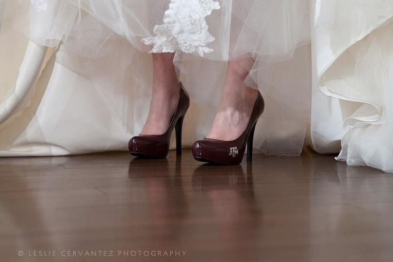 Chloe DuffyTexas A&M Gig Em Heels.jpg