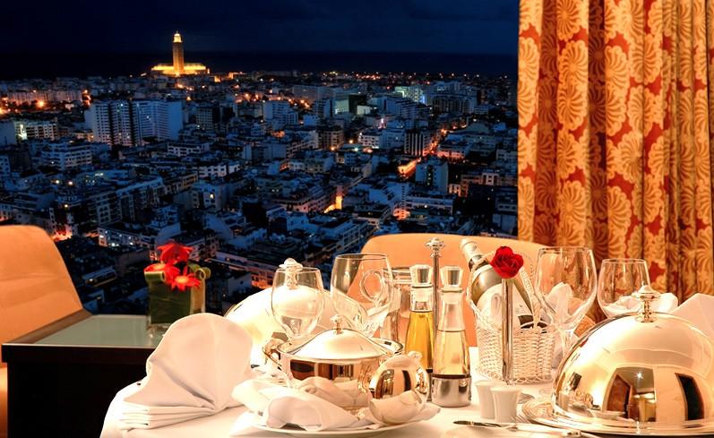 Restaurant Sens vue mosquée