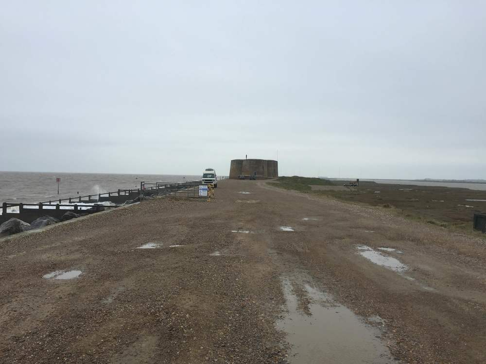 Approach the Martello Tower