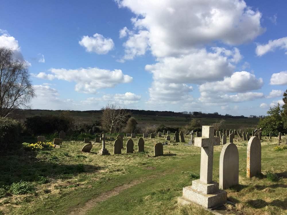 Blythburgh church cemetery
