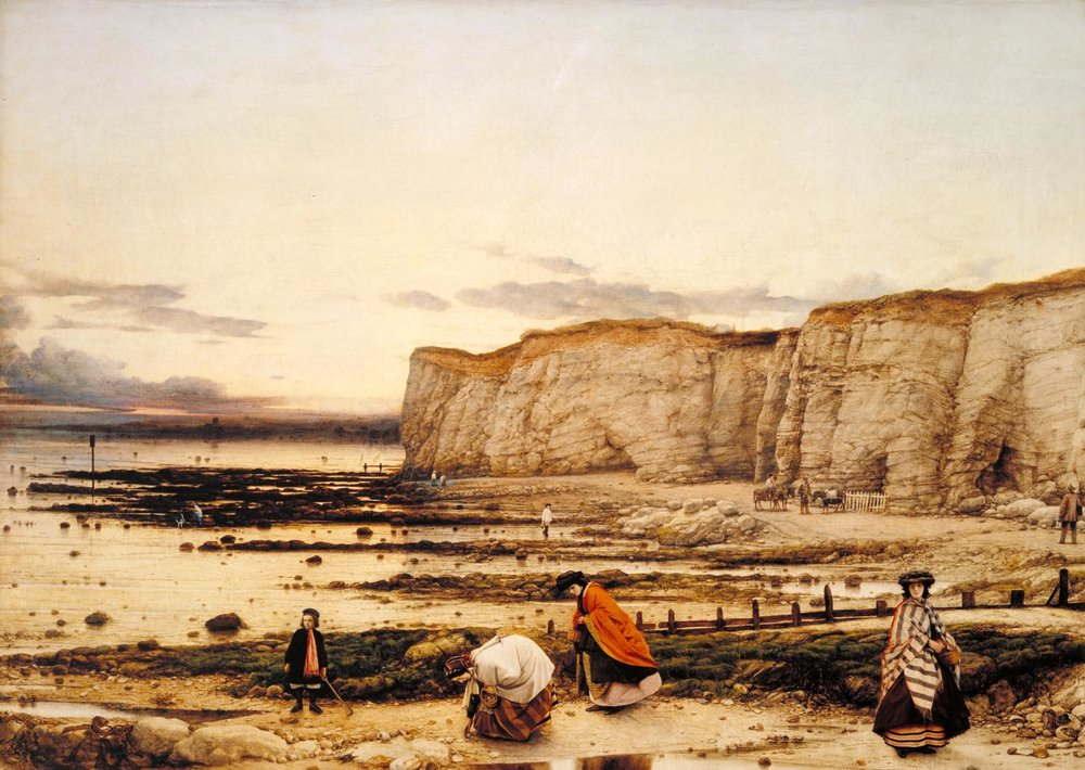 Pegwell Bay, Kent – a Recollection of October 5th 1858,  William Dyce, 1858-60