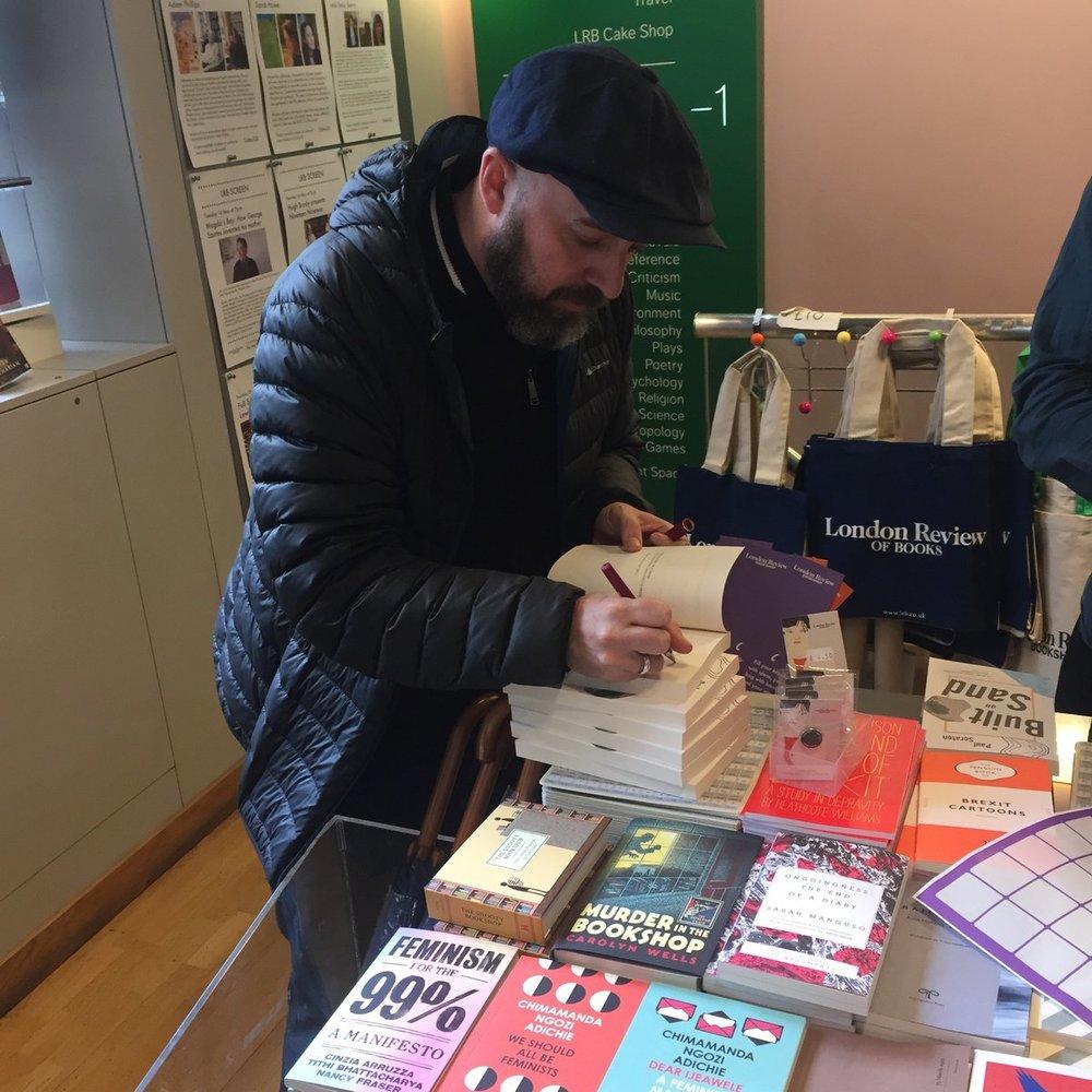 LRB Bookshop, 16/04/19