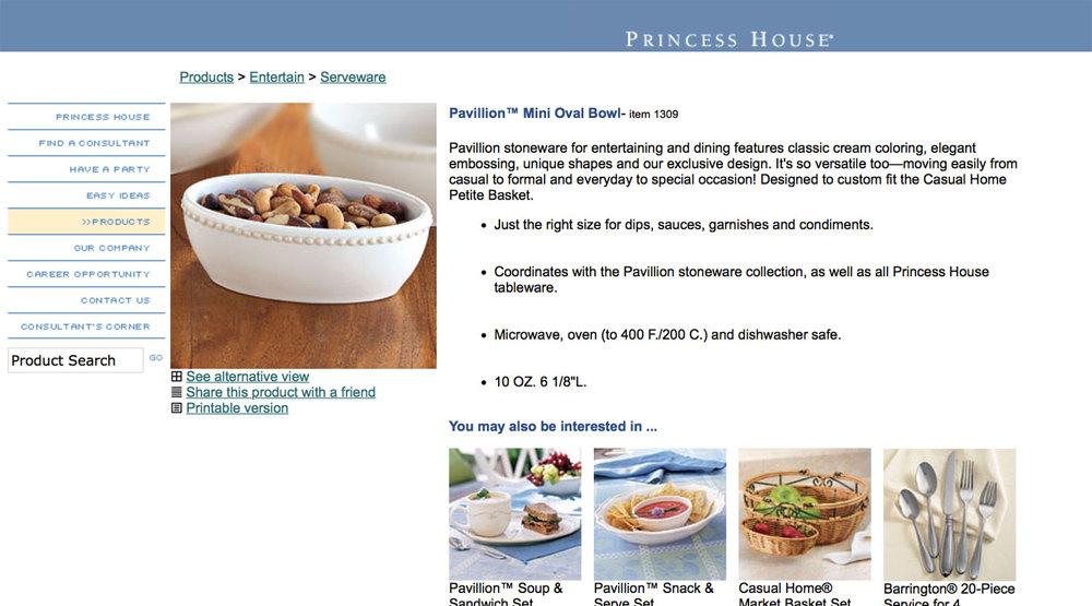 Princess House Website Aaron Kiselka