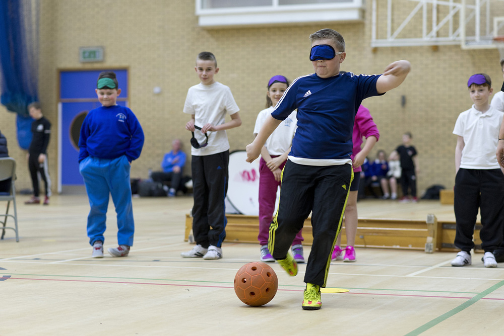 Goal Ball Name: Alex Bunney Job Title: National Development Manager, Goalball UK Click to email