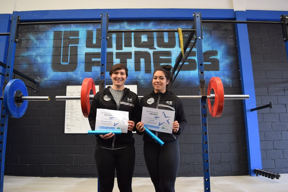 Charlotte & Lily - North Tyneside Barbells - Unique Fitness NE