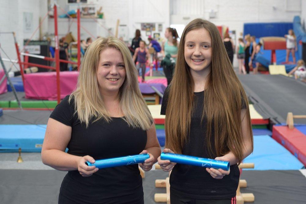 Emma & Rachel - Tyneside Gymnastics Club